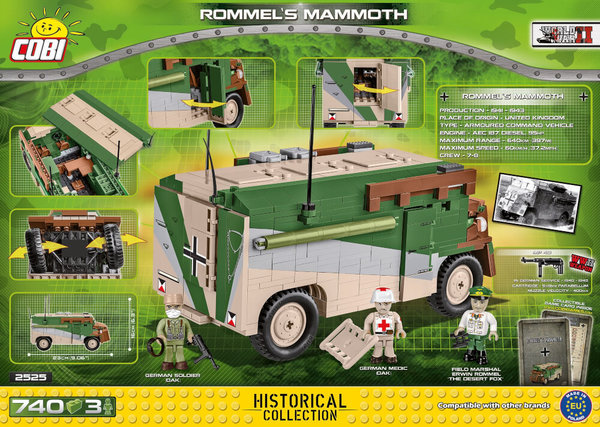 2525 COBI ROMMEL'S MAMMOTH