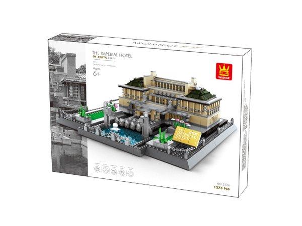 Wange 5226 Architect-Set Imperial Hotel Tokio 1373 Teile