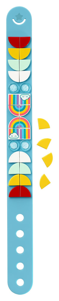 41900 LEGO® DOTs Regenbogen Armband