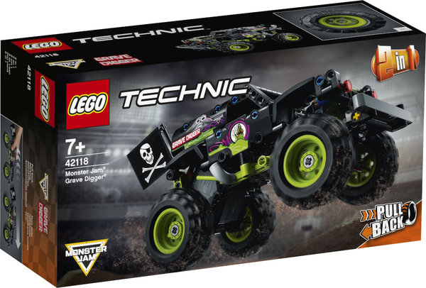 LEGO® Technic 42118 Monster Jam® Grave Digger®