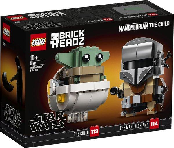 75317 LEGO® Star Wars Der Mandalorianer™ und das Kind