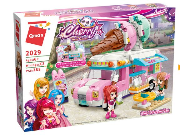 Qman 2029 Cherry Mew Mew Music Festival Eiswagen