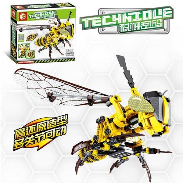 Sembo 703200 Technique Bumblebee / Honeybee Biene Wespe