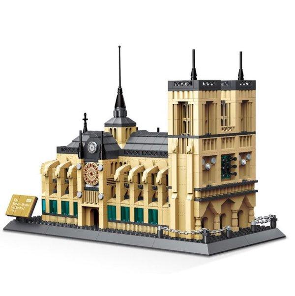 Wange 5210 Architect-Set The Notre-Dame Cathedral of Paris 1380 Teile