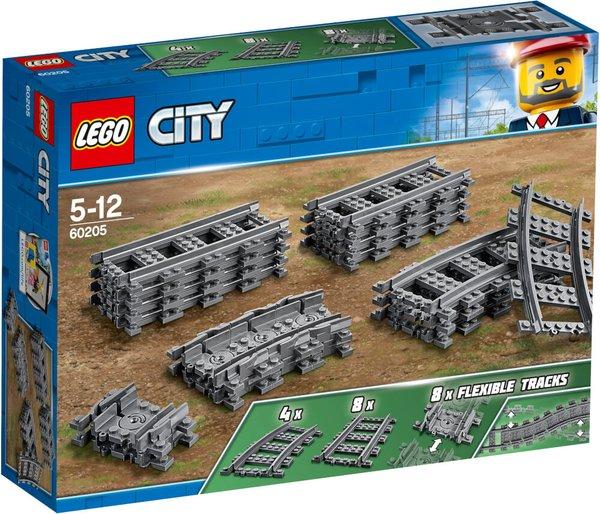60205 LEGO® City Schienen und Kurven