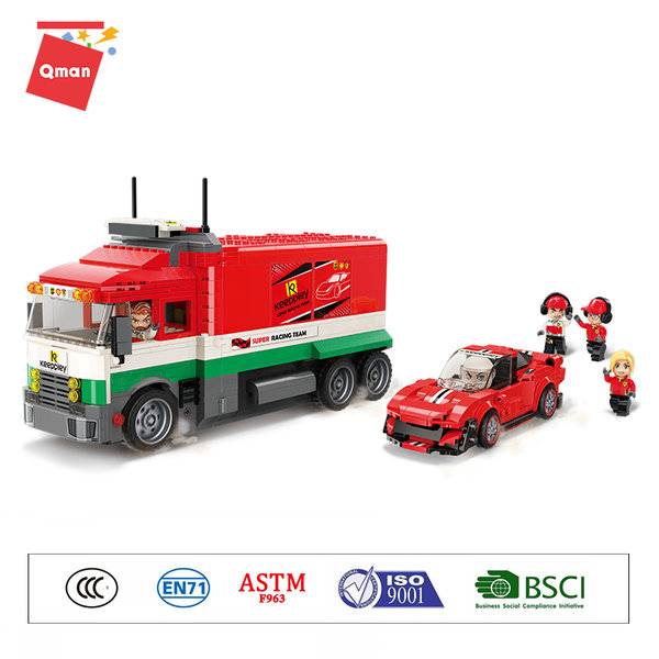 Qman 4204 Mine City Mobile Boxengasse