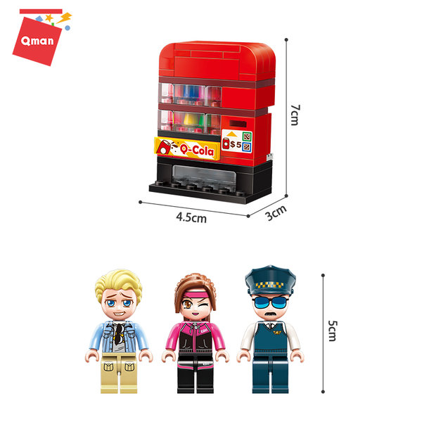Qman 1134 Colorful City Sightseeing Taxi