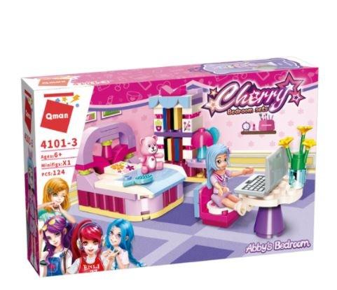 Qman 4101-3 Cherry Abbys Schlafzimmer