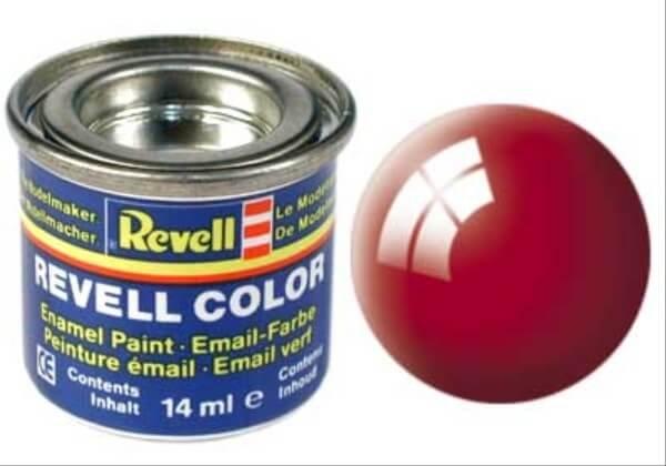 REVELL 32131 feuerrot, glänzend RAL 3000 14 ml-Dose