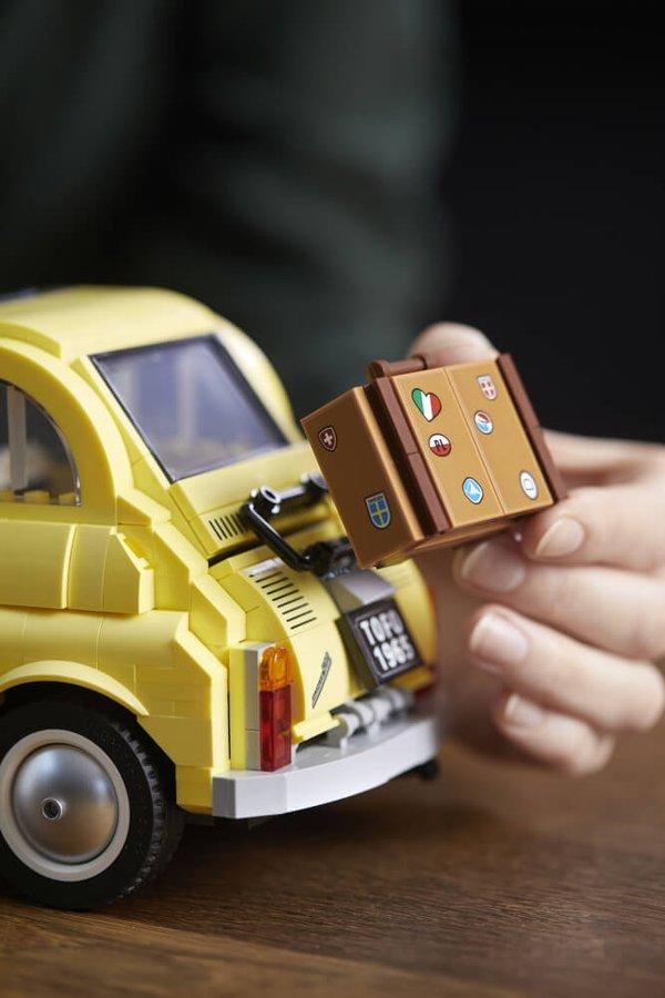 10271 LEGO® Creator Fiat 500 gelb