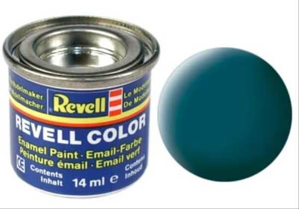 REVELL 32148 seegrün, matt RAL 6028 14 ml-Dose