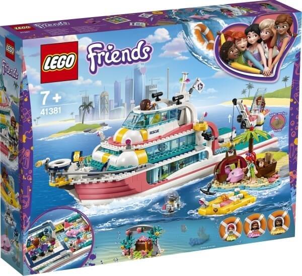41381 LEGO® Friends Boot für Rettungsaktionen