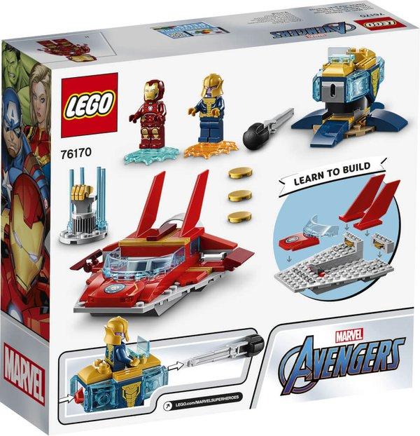 76170 LEGO® Marvel Super Heroes#  Iron Man vs. Thanos