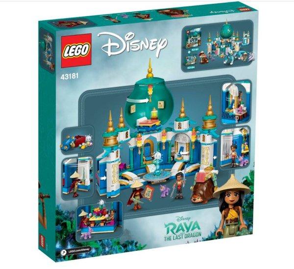 43181 LEGO® Disney Princess  Raya und der Herzpalast