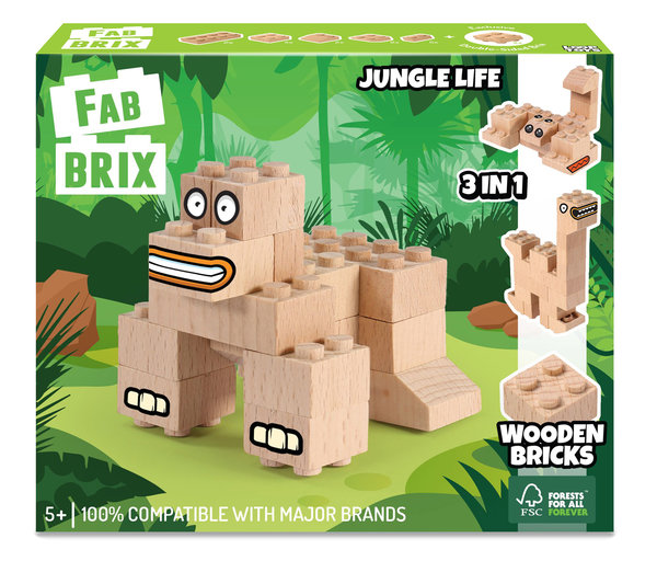 FabBRIX 1801 Jungle Life