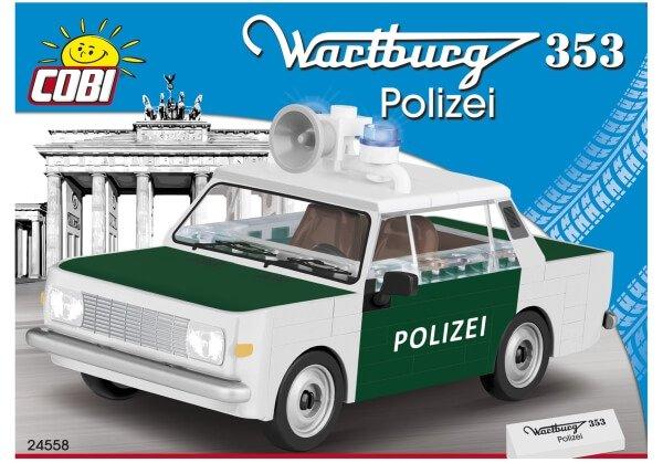 24558 COBI WARTBURG 353 POLIZEI