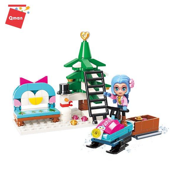 Qman 2023-3 Cherry Frohe Weihnachten - Merry Christmas