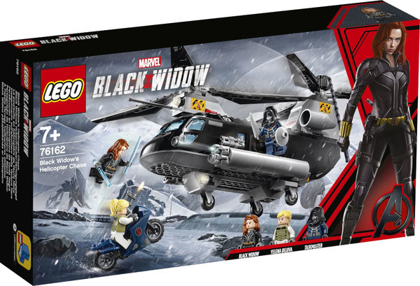 76162 LEGO® Marvel Super Heroes Black Widow s Helikopter-Verfolgungsjagd
