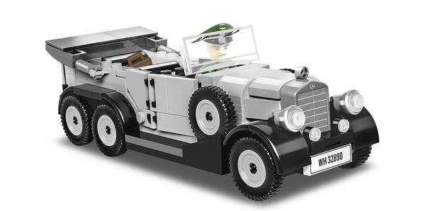 Cobi 2409 Mercedes G4 (1939) -Pad Printed-