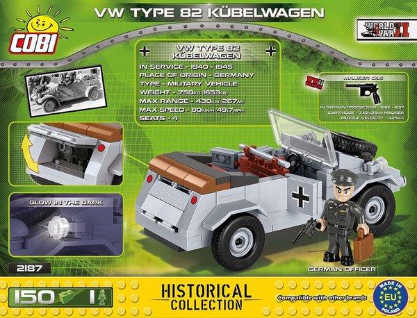 2187 COBI VW TYPE 82 KUBELWAGEN