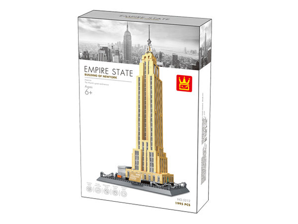Wange 5212 Architect-Set The Empire State Building New York 1995 Teile