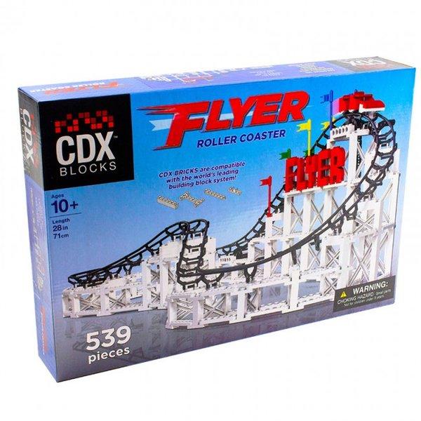 CDX Flyer Brick Roller Coaster Achterbahn