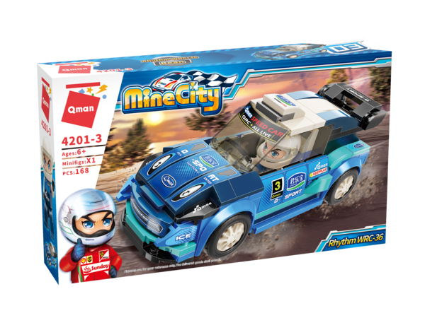Qman 4201-3 Mine City Rhythm WRC-36