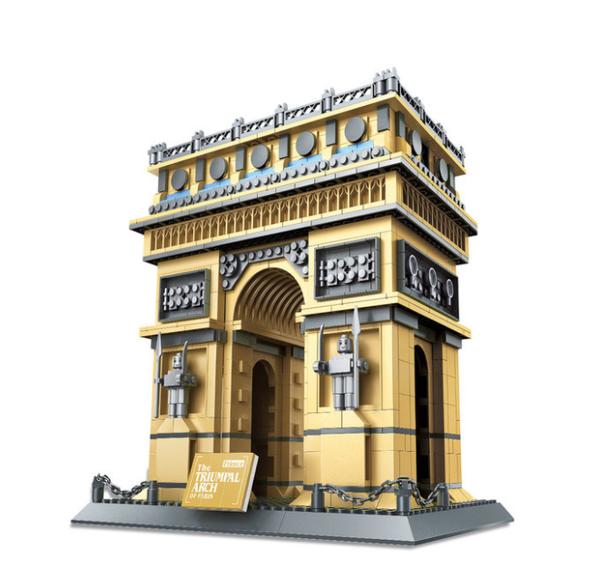 Wange 5223 Architect-Set The Triumphal Arch of Paris (Triumphbogen) 1401 Teile