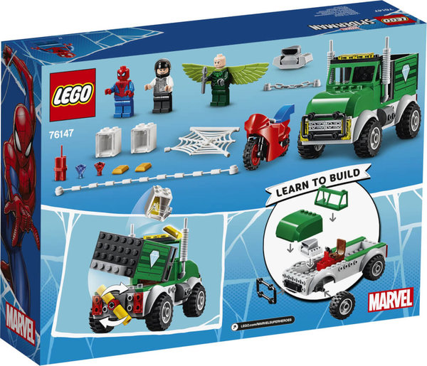 76147 LEGO® Marvel Super Heroes Spider-Men Vultures LKW-Überfall