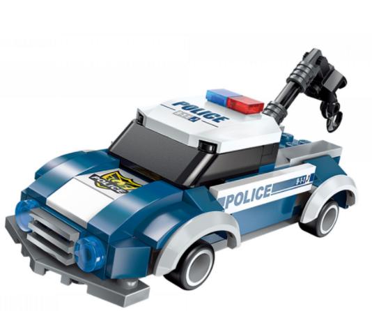 Qman 1407-3 Cruiser Flash / Transformer Polizeifahrzeug + Roboter