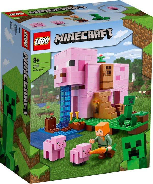 21170 LEGO® Minecraft#  Das Schweinehaus