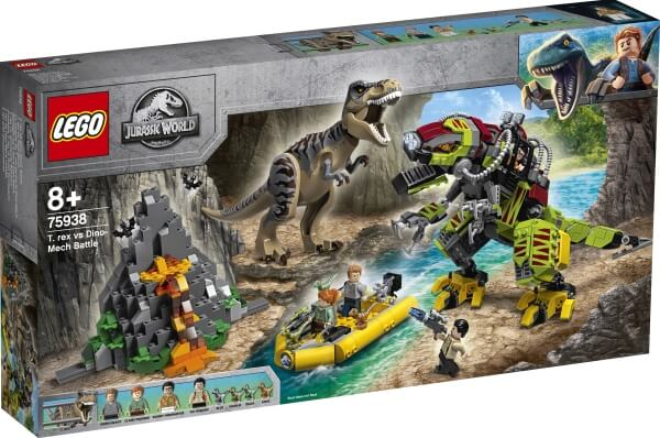 75938 LEGO® Jurassic World T. Rex vs. Dino-Mech
