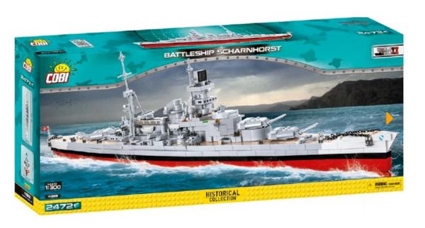 Cobi 4818 Battelship Schlachtschiff Scharnhorst (Historical Collection, WWII)