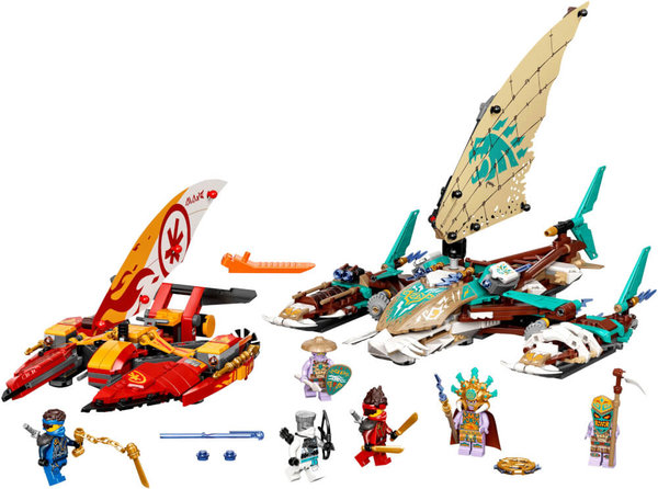 71748 LEGO® NINJAGO Duell der Katamarane