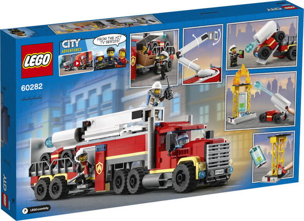 60282 LEGO® City  Mobile Feuerwehreinsatzzentrale