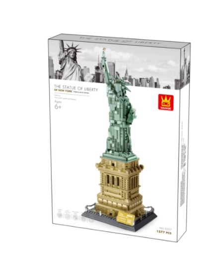 Wange 5227 Architect-Set The Statue of Liberty New York - Freihheitsstatue 1373 Teile