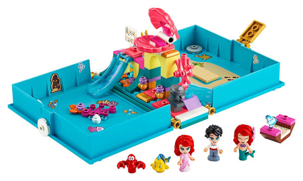 43176 LEGO® Disney Princess Arielles Märchenbuch
