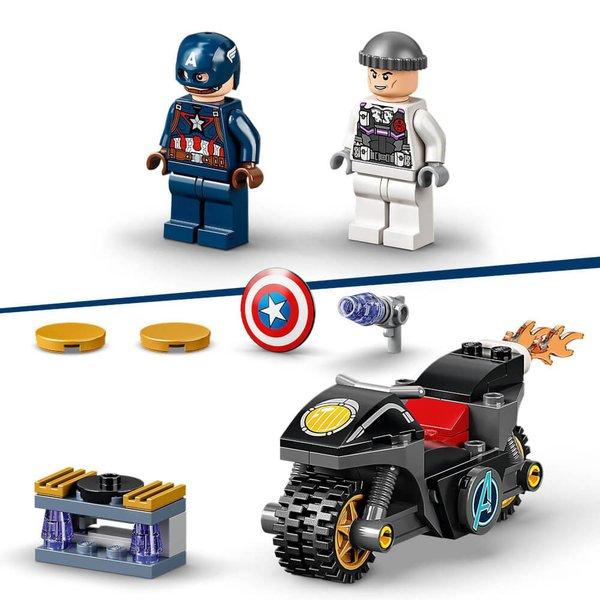 76189 LEGO® Marvel Super Heroes# Duell zwischen Captain America und Hydra
