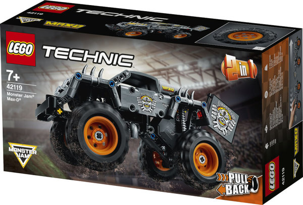 42119 LEGO® Technic Monster Jam® Max-D®