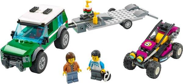 60288 LEGO® City  Rennbuggy-Transporter