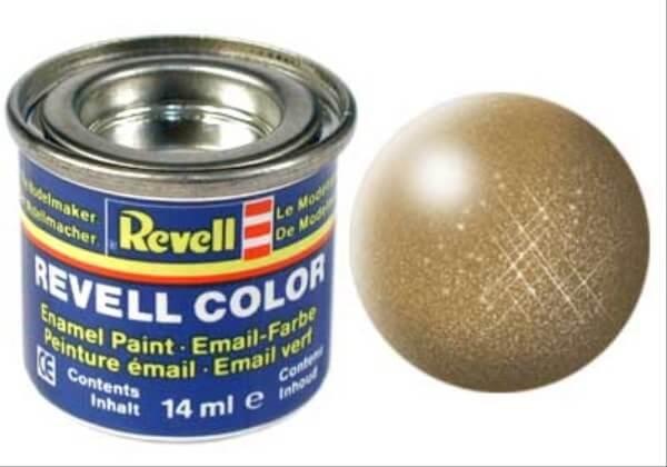 REVELL 32192 messing, metallic 14 ml-Dose