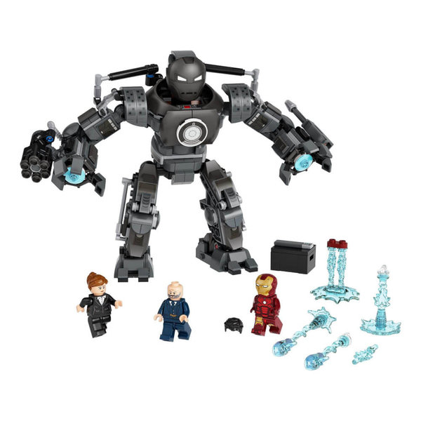 76190  LEGO® Marvel Super Heroes# Iron Man und das Chaos durch Iron Monger