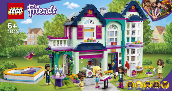 41449 LEGO® Friends  Andreas Haus