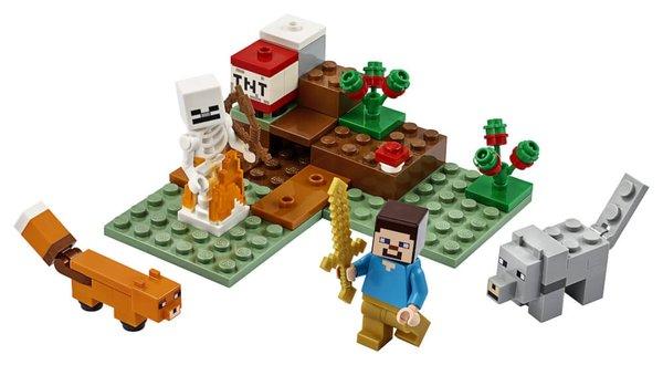 21162 LEGO® Minecraft Das Taiga-Abenteuer