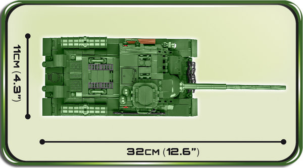 Cobi 2541 SU 100 Pad printed - no Stickers (Historical Collection, WWII)