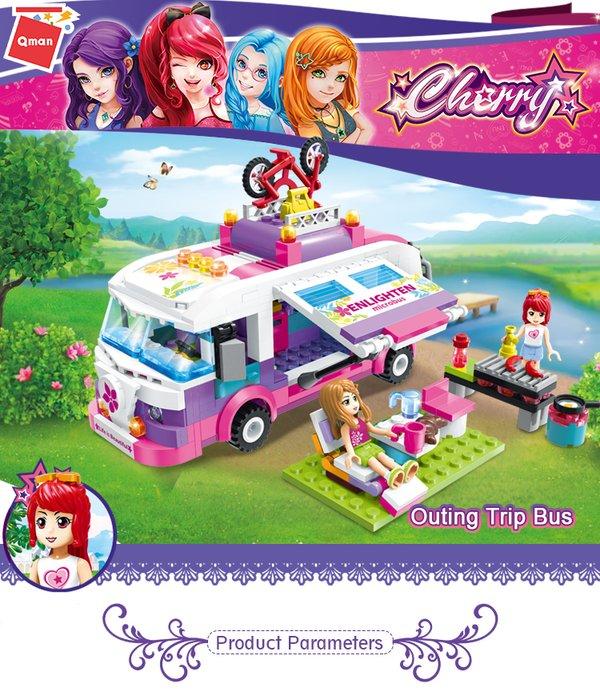 Qman 2004 Cherry Camping Bus