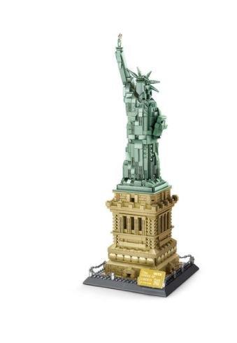 Wange 5227 Architect-Set The Statue of Liberty New York - Freihheitsstatue 1373 Teile