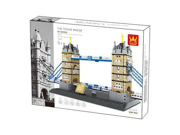 Wange 4219 Architect-Set The Tower Bridge of London 969 Teile
