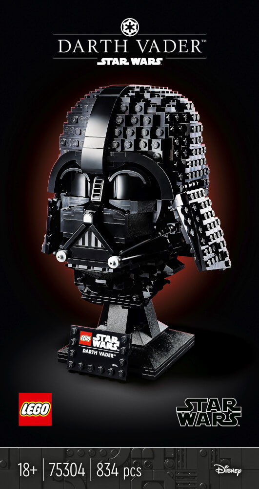 75304 LEGO® Star Wars#  Darth-Vader# Helm
