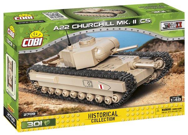 Cobi 2709 A22 Churchill MK.II 1:48 - Pad Printed -